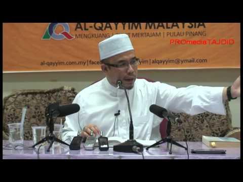 03-10-2013 dr asri zainul abidin: kisah istiqomahnya seorang lelaki di era dajjal