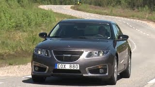 Saab 9-5 AWD RIP Last Road Test Handling Cool Car Commercial Carjam TV Car TV Show 2013