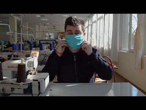 Βουλγαρία: Αγώνας δρόμου για μάσκες