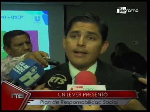 Unilever presentó plan de responsabilidad social