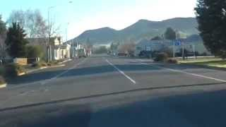 Lumsden New Zealand  City new picture : Drive Through Lumsden, Southland, NZ - 4 August 2014