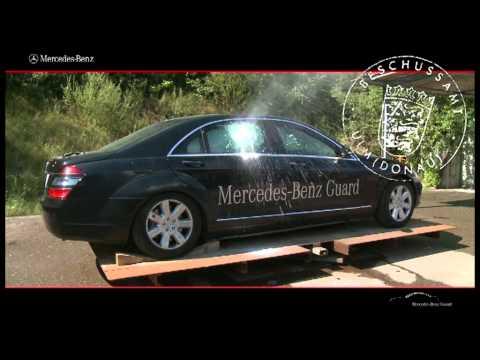 Mercedes benz guard снимок