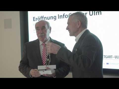 Eröffnung des InfoCenter in Ulm