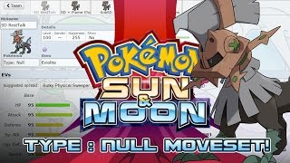 Type: Null Moveset Guide! How to use Type: Null! Pokemon Sun and Moon! w/ PokeaimMD! by PokeaimMD