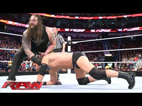 The Social Outcasts Vs. The Wyatt Family: Raw, January 11, 2016