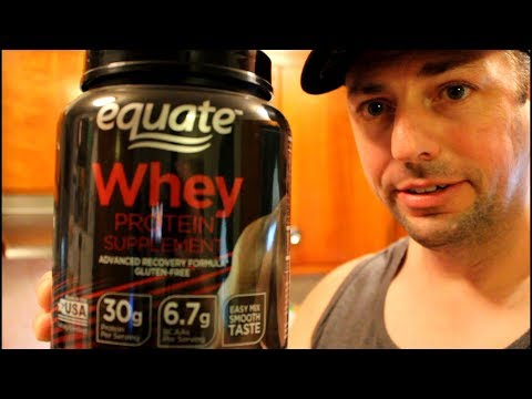 Equate Whey protein review