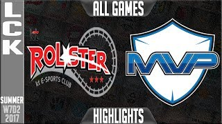 KT Rolster vs MVP Highlights ALL GAMES - Week 7 LCK Summer 2017 - KT vs MVPLCK teams: Afreeca Freecs, bbq Olivers, Jin Air Greenwings, LongZhu Gaming, KT Rolster, MVP, Kongdoo Monster, ROX Tigers, Samsung Galaxy, SK Telecom T1LCK Spring 2017 playlist: https://www.youtube.com/playlist?list=PLJwuLHutaYuI5BdsTlhYB67MhL4VnO0w7☻All games spoiler free with stats and infographs at Stage: https://stage.gg/► All other previous tournaments: http://bit.ly/1WBqwLzKazaLoLLCShighlights -  bringing you fast highlights of LCS, LCK, LPL and LMS League of Legends Esports Matches every day♡♡♡♡♡♡♡♡♡♡♡♡♡♡♡♡♡♡♡♡♡♡♡♡♡♡♡♡♡♡✉ Social media below - Follow for regular updatesⓕⓑ  KazaGamez  ►http://on.fb.me/1N5j0EHⓖ+                            ►http://bit.ly/1Bpjrbaⓣⓦⓘⓣⓣⓔⓡ      ►Twitter      -  http://bit.ly/1BkVAtGⓣⓦⓘⓣⓒⓗ          ►Livestream: http://bit.ly/1BpjzYdⓓⓞⓝⓐⓣⓔ          ►Paypal: http://bit.ly/1cBU6JnSubscribe: http://bit.ly/1oZa2wJ