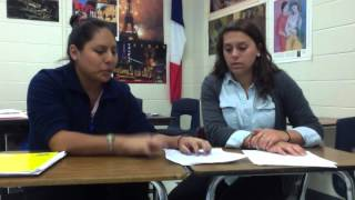 IB English Poetry Project Ana Cano and Elizabeth Blackshire.