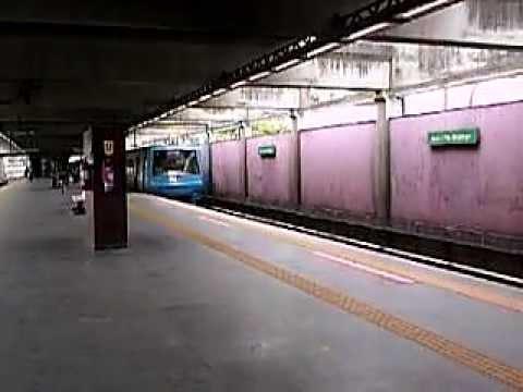 Metrô Rio - TUE Alstom em Acari.AVI