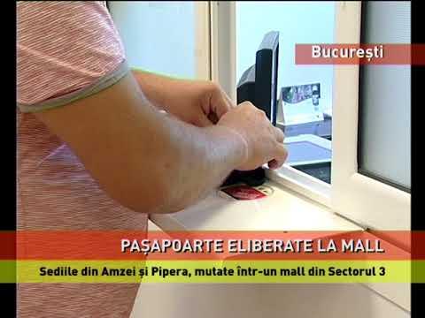 Noul sediu al Seviciului Pașapoarte, într-un mall din București