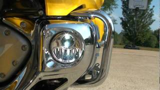 10. 2010 HONDA GOLDWING GL 1800 MOTORCYCLE NAVIGATION FOR SALE SEE WWW SUNSETMILAN COM