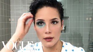 "Halsey's ""Manic"" Makeup Tutorial | Beauty Secrets | Vogue"
