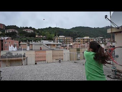 Ιταλία: Τένις από ταράτσα σε ταράτσα
