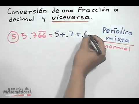 Vídeos Educativos.,Vídeos:Convertir decimal a fracción II