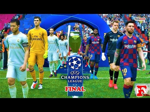 PES 2019 | Barcelona vs Real Madrid | UEFA Champions League FINAL | EL CLASICO | Gameplay PC