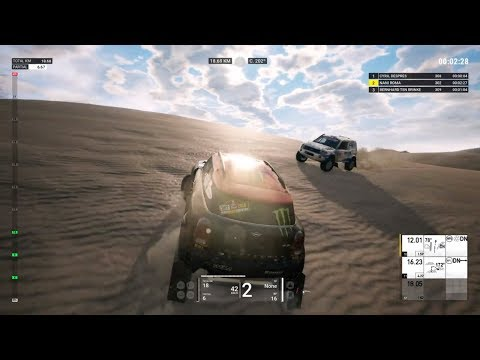 Dakar 18 Gameplay - Etapa 1 Completa Lima - Pisco (Version WIP)