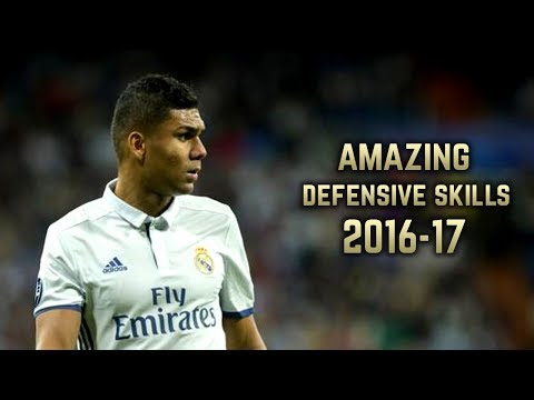 Casemiro 2016-17 | Amazing Defensive Skills