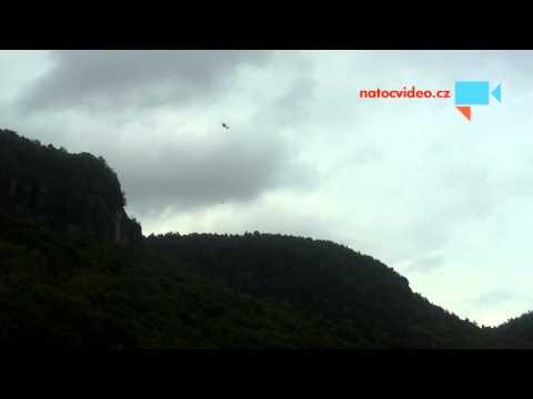 Záchrana horolezce v Dolním Žlebu