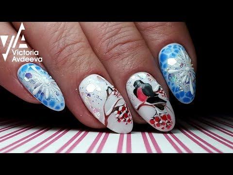 Nail designs - Зимний Экспресс Дизай Ногтей  ТОП удивителные дизайны ногтей