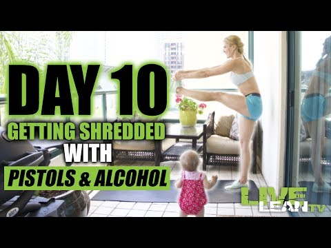 HOME SHRED #4 (BODYWEIGHT HIIT WORKOUT) | Live Lean Shred Ep. 10 | LiveLeanTV