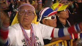 Crisis En Tailandia: Los Manifestantes Anti Shinawatra Bloquean Las Candidaturas Para Las...