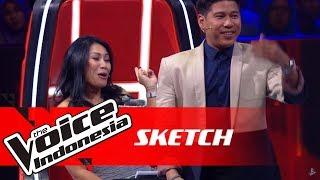 Video Seru! Ini Momen STEAL Pertama di Babak Knockout | SKETCH | The Voice Indonesia GTV 2018 MP3, 3GP, MP4, WEBM, AVI, FLV Januari 2019