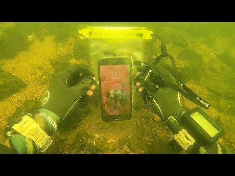 Found a Working iPhone Underwater in a Waterproof Bag! (Scuba Diving)_Búvárkodás. Heti legjobbak