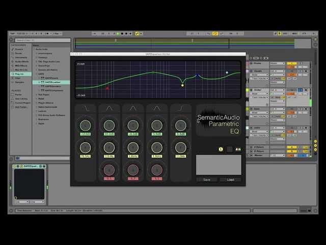 SAFE Semantic Audio Plugins walk through Tutorial