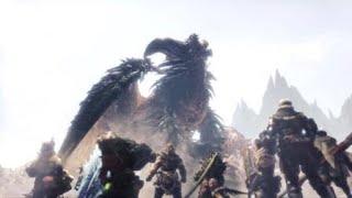 Ruiner Nergigante vs Shara Ishvalda | Monster Hunter World Iceborne