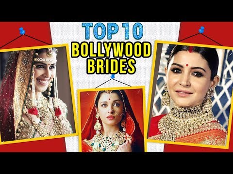 Top 10 BOLLYWOOD BRIDES On Their Wedding Day! | Ai
