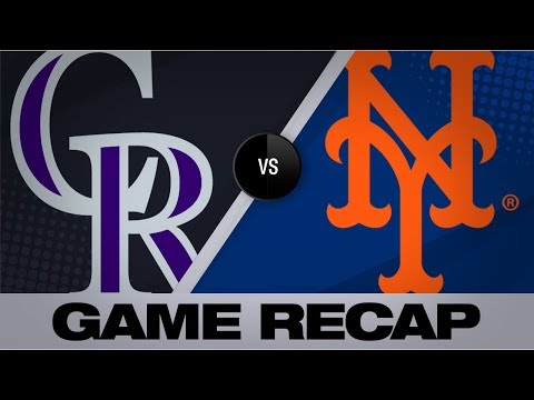 Video: Desmond, Story homer in Rockies' 9-4 win | Rockies-Mets Game Highlights 9/16/19