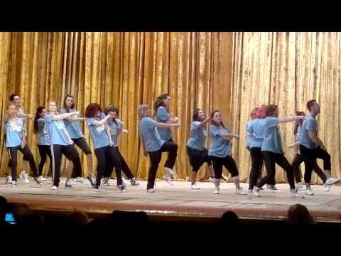 Jazz-funk choreography by Anton Anisimov Spring Concert (видео)