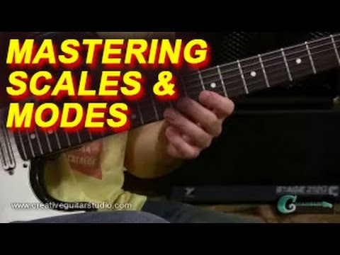 GUITAR THEORY: Mastering Your Scales & Modes