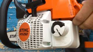 7. Stihl ms 250 45cc3