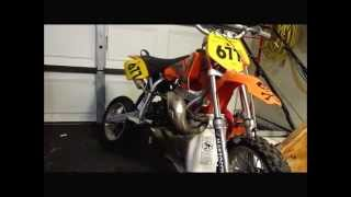 6. HOW TO CHANGE A KTM 50 top end !!