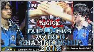 Nonton 2018 Yu Gi Oh  Duel Links World Championship Final Takahiro Hamada V Junior Silva   Ytdan Duel Links Film Subtitle Indonesia Streaming Movie Download
