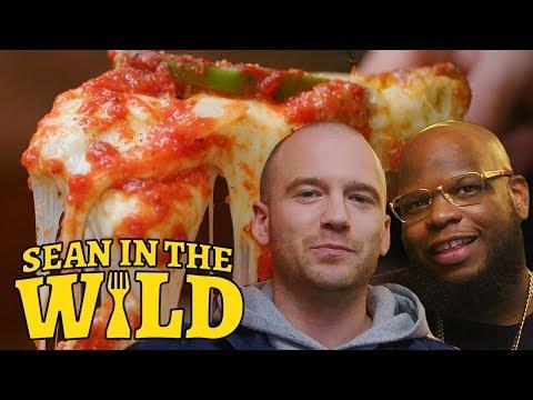 New York vs. Chicago Pizza Debate with Meyhem Lauren   Sean in the Wild