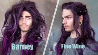 Rags to riches - fixing up a horrible synthetic wig