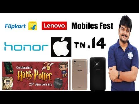 technews # 14 Harry Potter 20 years, honor 8 pro, infocus turbo 5,apple india,flipkart offers etc