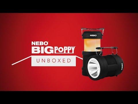 NEBO Unboxed: BIG POPPY