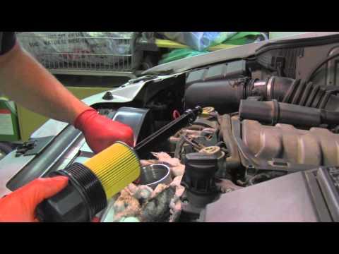 Engine oil change Mercedes ML320