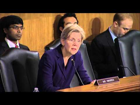 senator - http://warren.senate.gov Senator Elizabeth Warren's Q&A at the March 7, 2013 Banking Committee hearing entitled