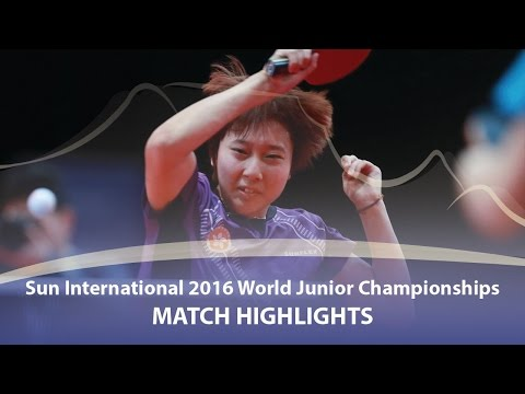 WJTTC 2016 Highlights: Hina Hayata vs Soo Wai Yam Minnie (Team-1/2) (видео)