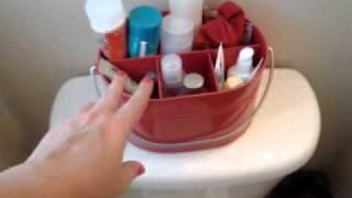 Storage ideas for a Teeny Bathroom