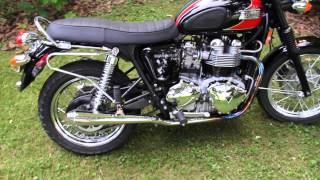 2. 2008 Triumph Bonneville T100 - D&D Slip-On Silencers