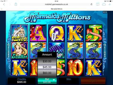 Mermaids Millions slot app
