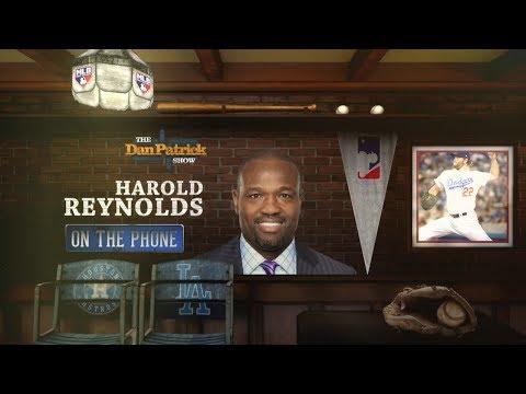 MLB Network's Harold Reynolds Talks World Series w/Dan Patrick | Full Interview | 11/01/17