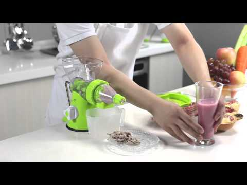 Manual Slow Juicer by Delitech