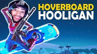 HOVERBOARD HOOLIGAN | HIGH KILL FUNNY GAME - (Fortnite Battle Royale)