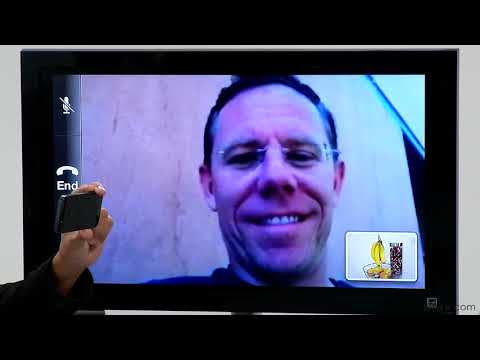 Facetime - This iOS 6 tutorial shows how to perform video chatting with FaceTime and the front-facing camera of your iPhone or iPod touch. Watch more at http://www.lynd...